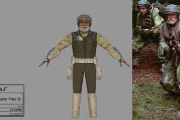 IMG 4207 - Captain Rex is officially in Star Wars: Return of the Jedi