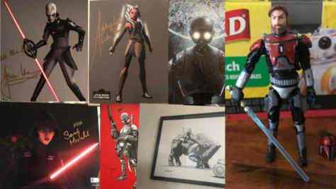 Star Wars Charity Raffle For Puerto Rico and Mexico City
