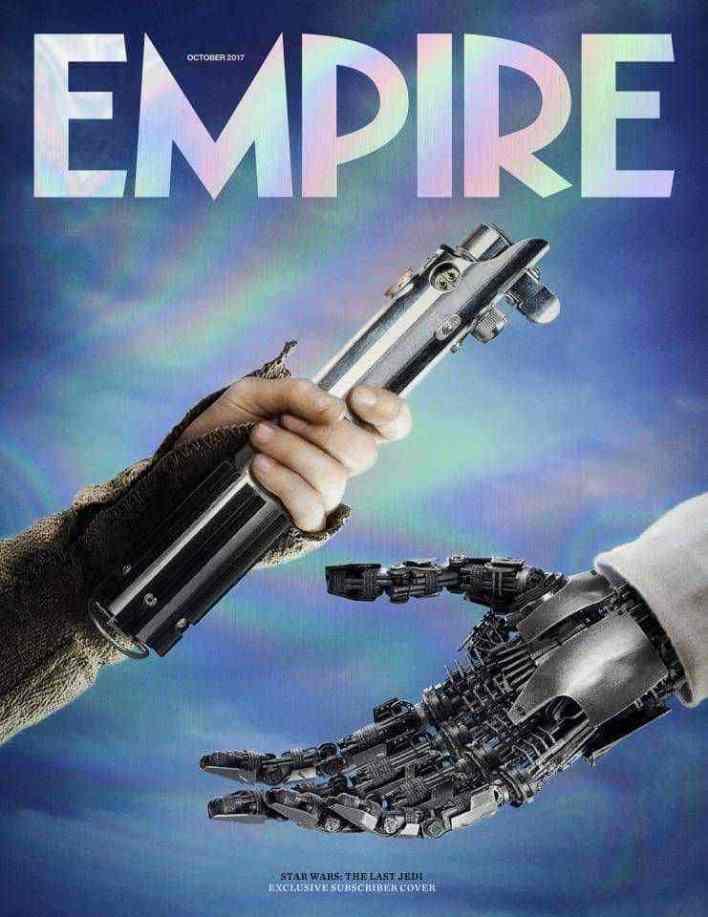EMPIRE's Star Wars: The Last Jedi subscriber cover!