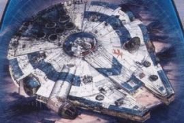 Han Solo Falcon - What does the Falcon look like in the untitled Star Wars Han Solo story?