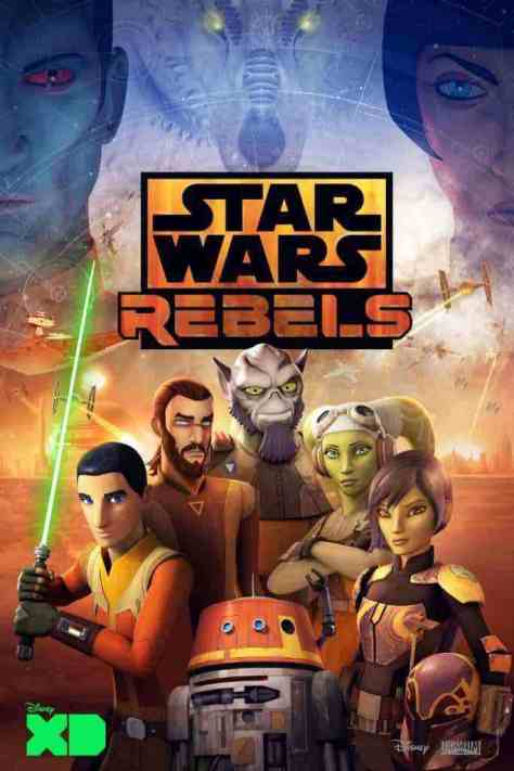 Star Wars Rebels Season 4 Poster showcases the final season