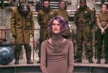 Holdo - A new photo of Vice Admiral Amilyn Holdo from Star Wars: The Last Jedi