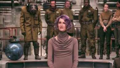 Holdo - A new photo of Vice Admiral Amilyn Holdo from Star Wars: The Last Jedi.