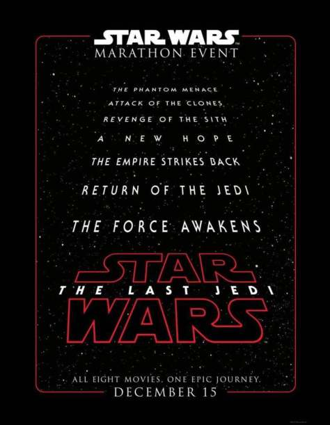 Star Wars The Last Jedi Ticket details and another teaser!