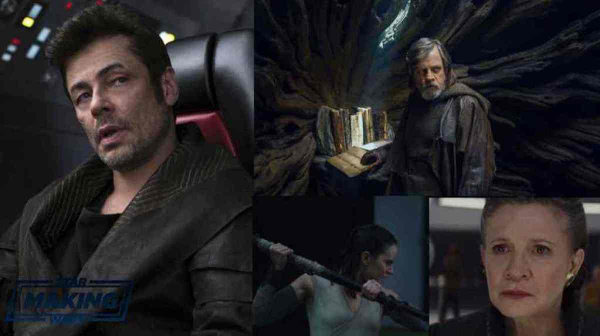 New dialogue from DJ, Luke Skywalker, Rey, and General Leia from Star Wars: The Last Jedi