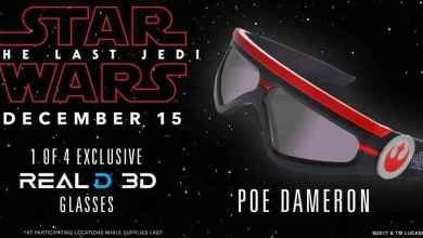 Real D 3 - Star Wars: The Last Jedi Real D 3D glasses are here!