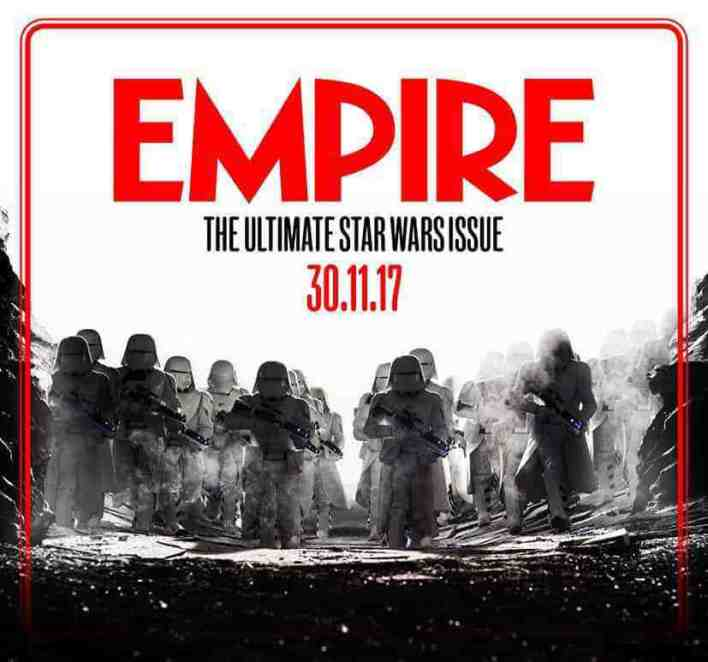 Empire Magazine has some Star Wars: The Last Jedi issues on the way. PORGS!