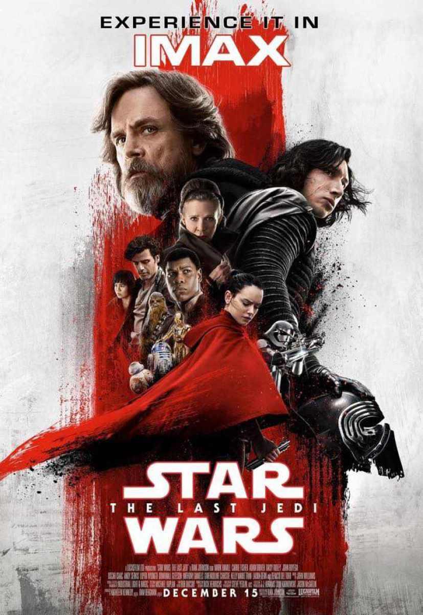IMAX shows off its Star Wars: The Last Jedi poster!