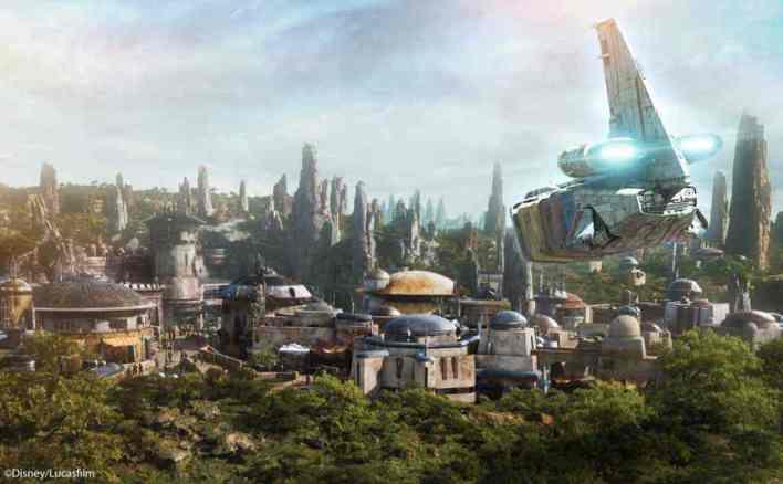 IMG 6988 - Batuu is the planet chosen for Star Wars Galaxy's Edge!