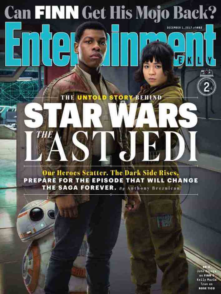IMG 7017 - Entertainment Weekly showcases its Star Wars: The Last Jedi covers!