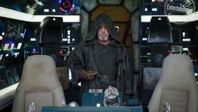 IMG 7035 - Mark Hamill on Luke Skywalker's return to the Falcon in Star Wars: The Last Jedi