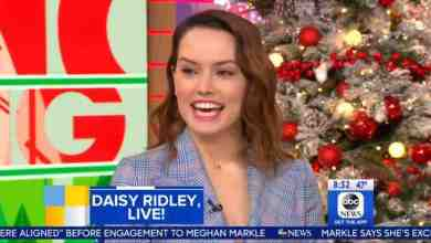 Photo of Daisy Ridley talks Star Wars: The Last Jedi on GMA