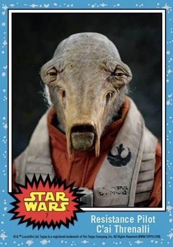Meet Resistance Pilot C'ai Threnalli from Star Wars: The Last Jedi!