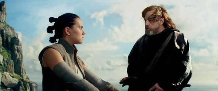 REY LUKE - Rian Johnson's original cut of Star Wars: The Last Jedi was over three hours!