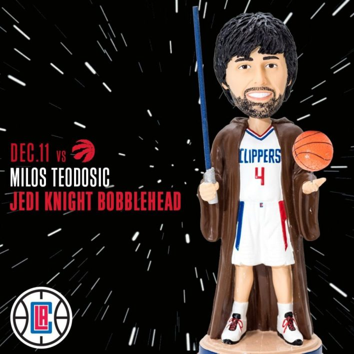 1200x1200 JediBobblehead preview - Event: L.A. Clippers Star Wars Night!