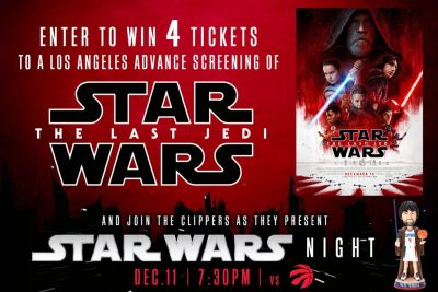 Event: L.A. Clippers Star Wars Night!