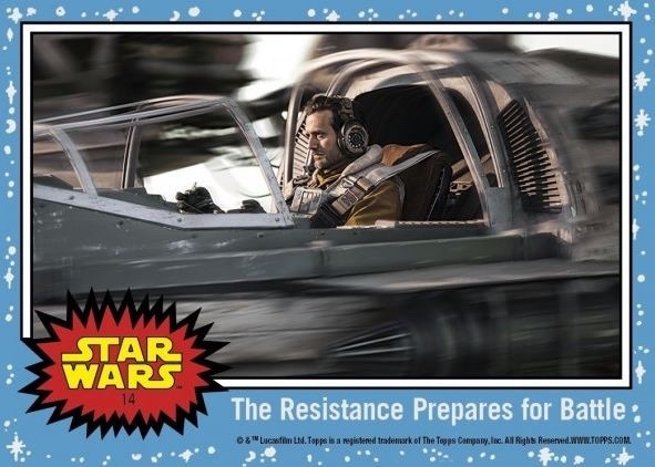 Topps shares new images from Star Wars: The Last Jedi!