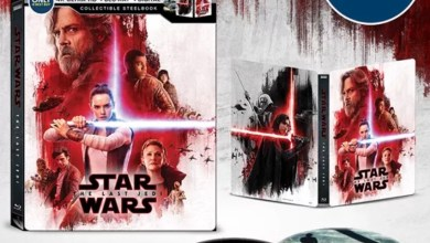 Photo of Star Wars: The Last Jedi retail exclusive Blu-ray covers!