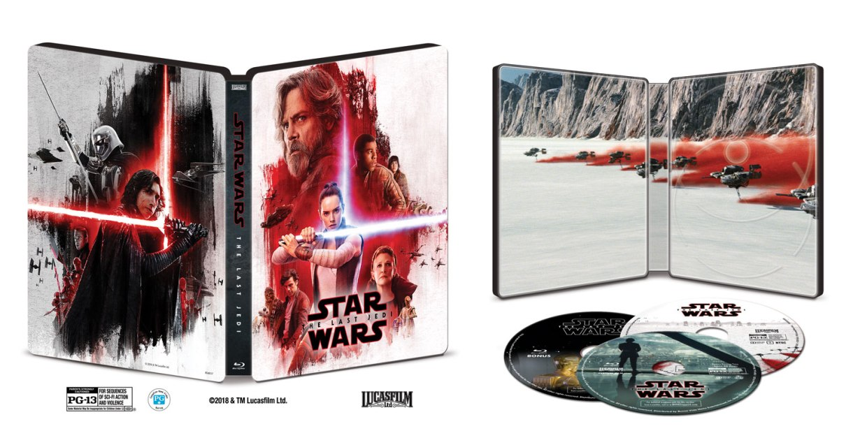 Star Wars: The Last Jedi 4K Blu-Ray coming March 27th!