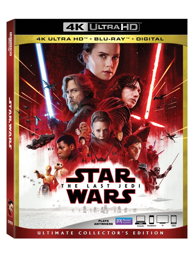 Star Wars The Last Jedi 4k Blu Ray Coming March 27th Making Star Wars