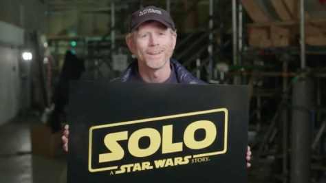 "Ron Howard on ""Solo: A Star Wars Story"" - ""It's about a lawless corner of the Empire..."""