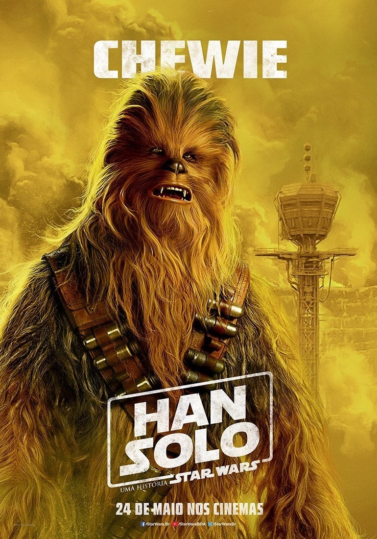 Solo: A Star Wars Story International Posters!