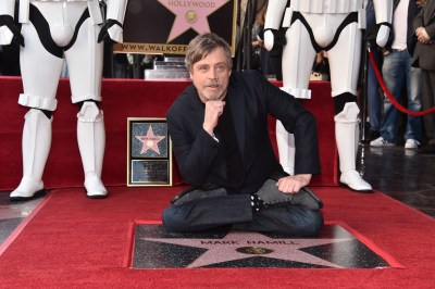 Mark Hamill Receives Star on Hollywood Walk of Fame!