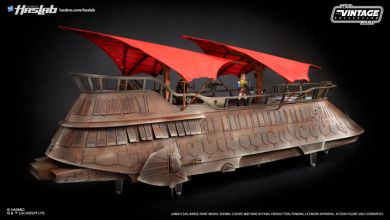 Photo of Only one day left to back the Star Wars Sail Barge from Hasbro!