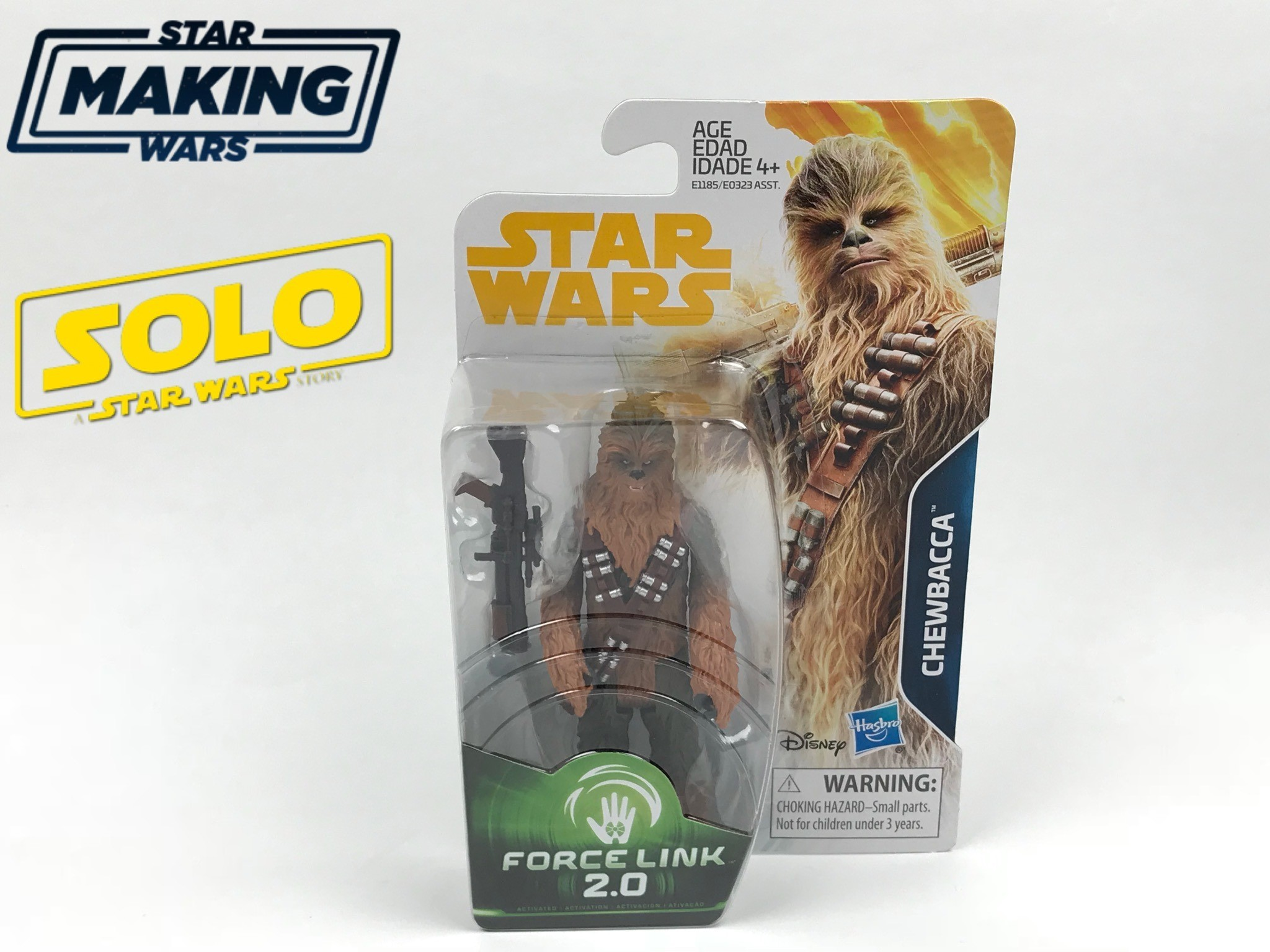 "Hasbro Solo: A Star Wars Story 3.75"" Chewbacca Figure Review!"