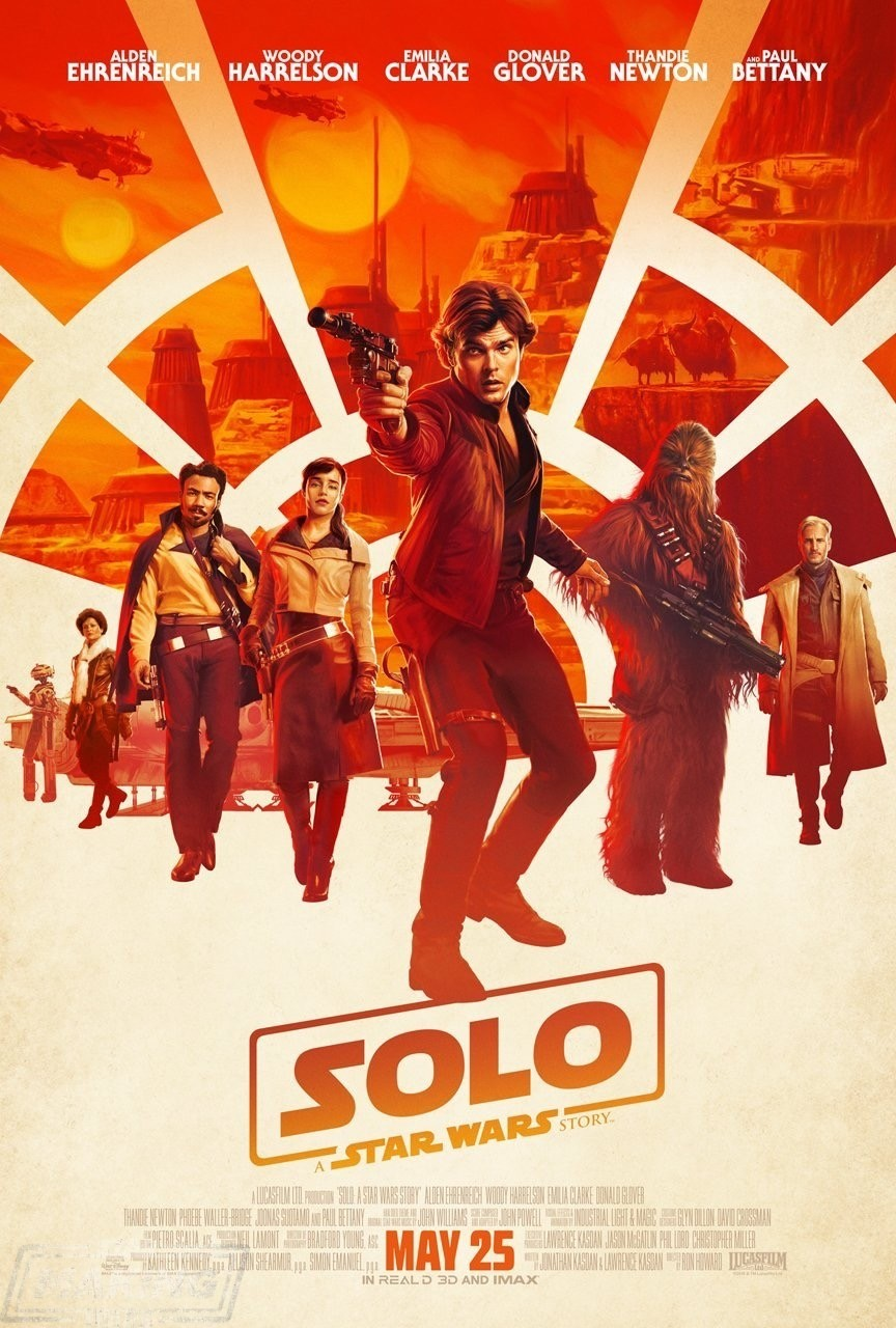 Solo: A Star Wars Story Theatrical Poster!