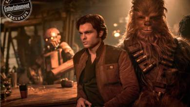 A few more Solo: A Star Wars Story photographs and info from EW!