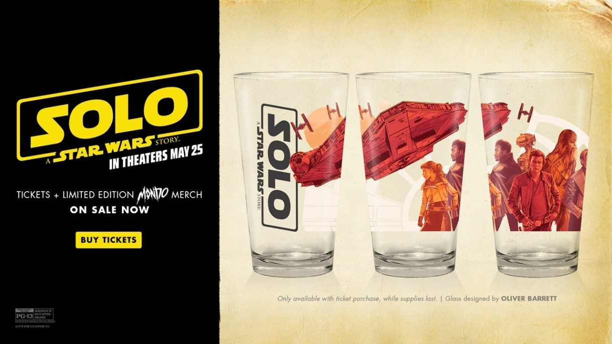 Solo: A Star Wars Story movie theater giveaways! | Making