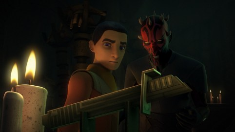 Maul and Ezra Bridger