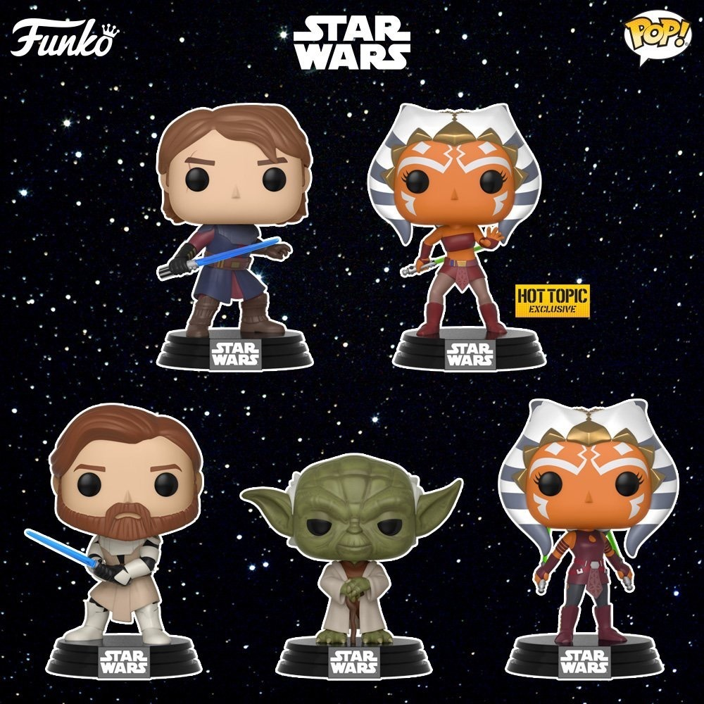 Funko Star Wars The Clone Wars POP!s are coming! | Making