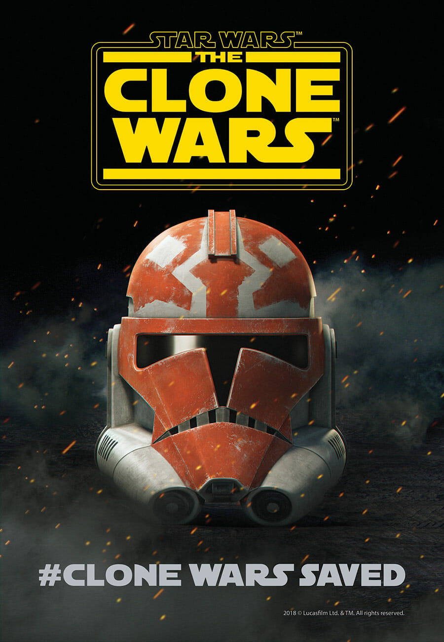 SDCC18 TCW poster