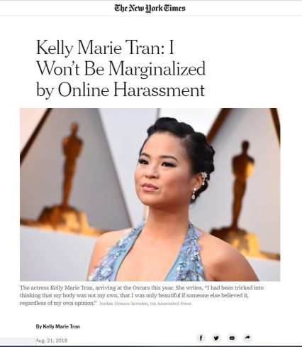 Kelly Marie Tran New York Times
