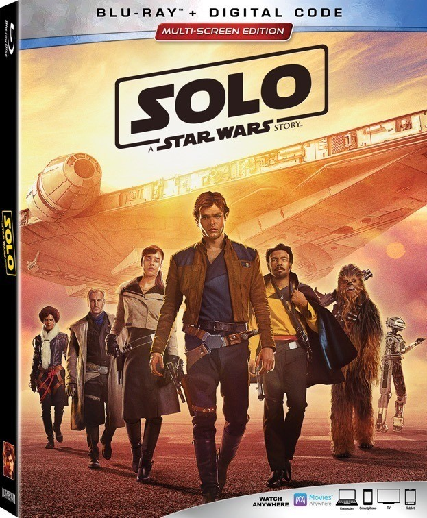 Photo of Solo: A Star Wars Story Available Digitally on Sept. 14th and on Blu-ray Sept. 25th