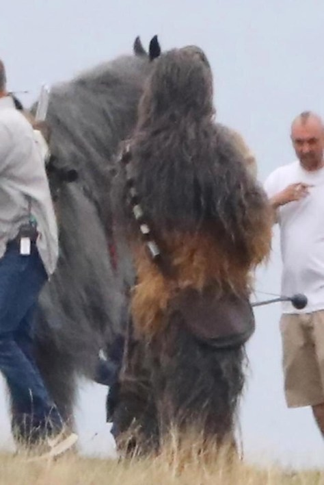 First Look at Finn, Poe, and Chewbacca in Star Wars: Episode IX