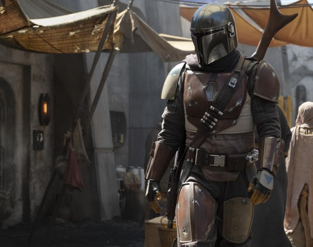 "The Mandalorian and the Remnants of the Empire after ""Star Wars: Return of the Jedi"" with a photo!"