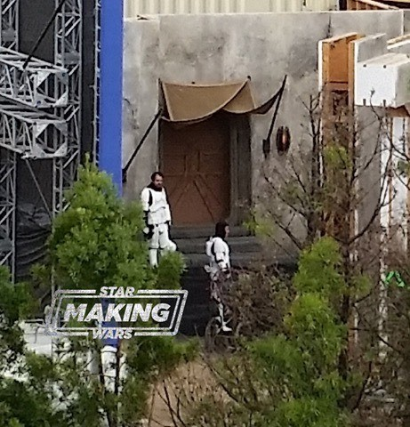 """The Mandalorian and the Remnants of the Empire after """"Star Wars: Return of the Jedi"""" with a photo!"""