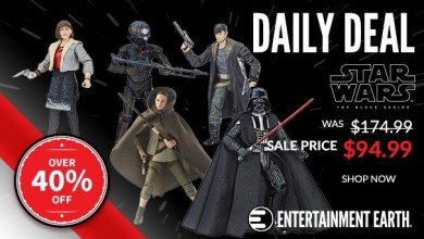 Photo of Entertainment Earth is donating to the Kessel Toy Run & they have an awesome Star Wars deal today!