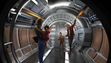 Photo of EW shares exclusive clips of Galaxy's Edge attractions Rise of the Resistance, Smuggler's Run, and a taste of a John Williams score!