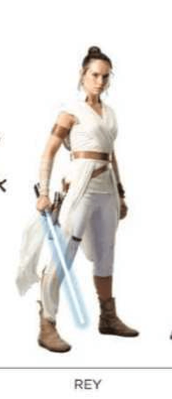 Star Wars: Episode IX retail poster and character sheets