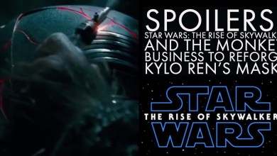 Photo of Spoilers: Star Wars: The Rise of Skywalker and the monkey business to reforge Kylo Ren's mask.