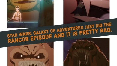 Photo of Star Wars: Galaxy of Adventures just did the Rancor episode and it is pretty rad.
