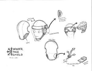 Winter Face Shield