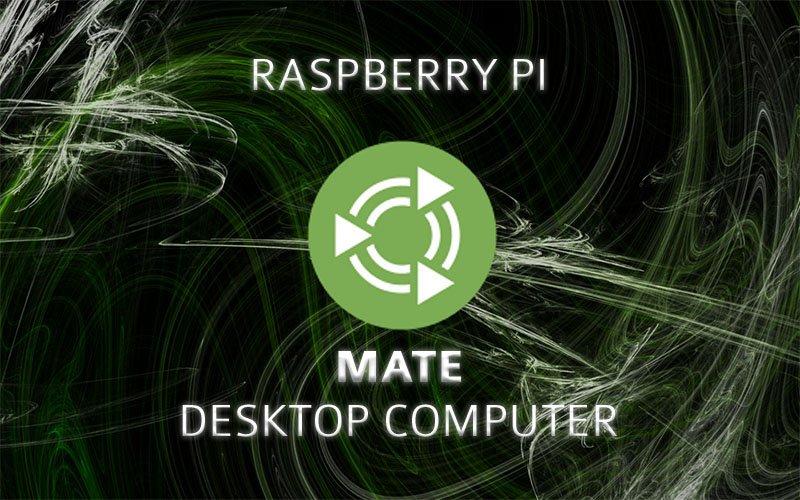 Install Mate Desktop on the Raspberry Pi using an External Hard Drive