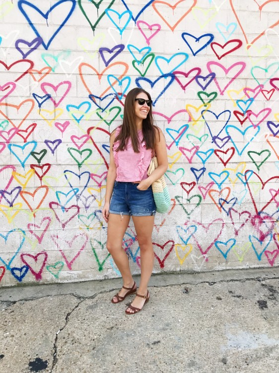 Union Market Heart Wall