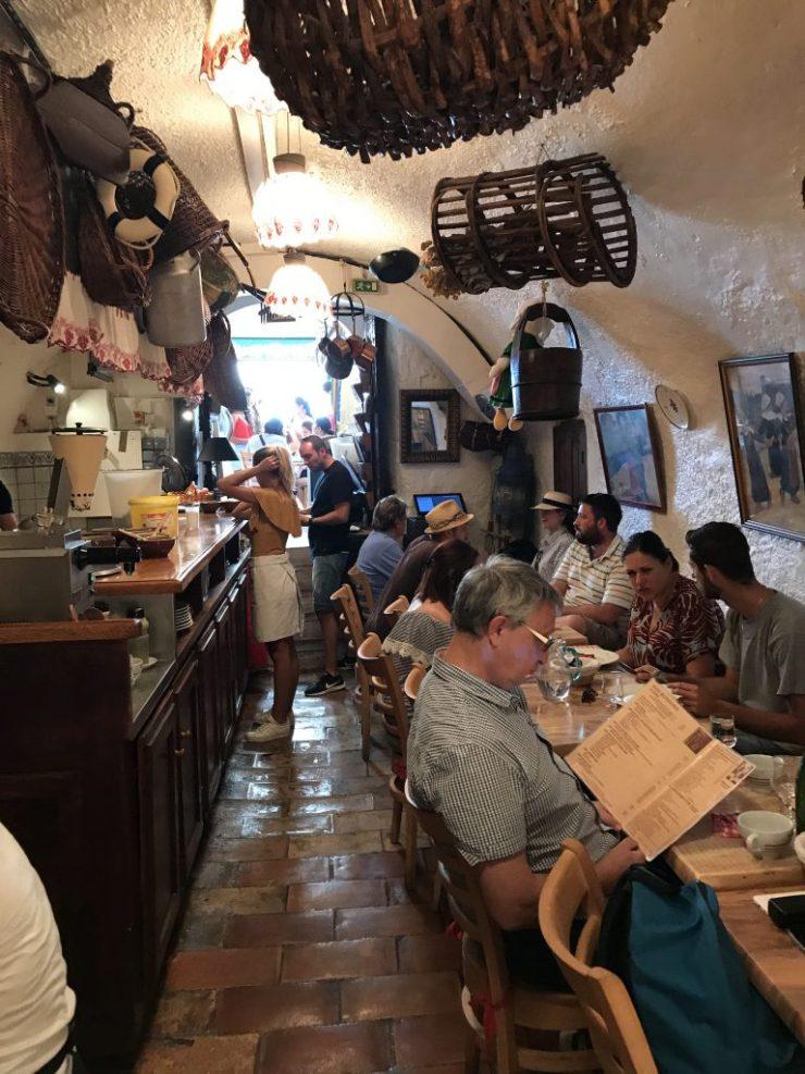 St. Tropez restaurant