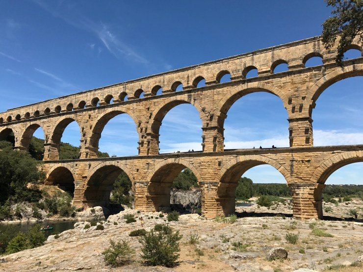 A Day in Nîmes and a Trip to the Pont du Gard